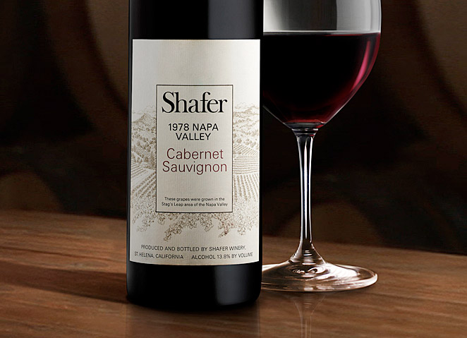 Shafer's 1978 Cabernet