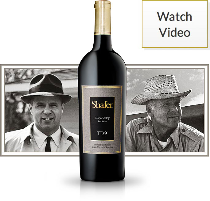 TD-9 wine with John Shafer